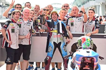 Franco Morbidelli, Campeón del Mundo de Moto2 2017 antes incluso de correr en Malasia