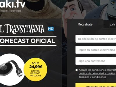 Google Chromecast por 24,99 euros y consigue una película de regalo