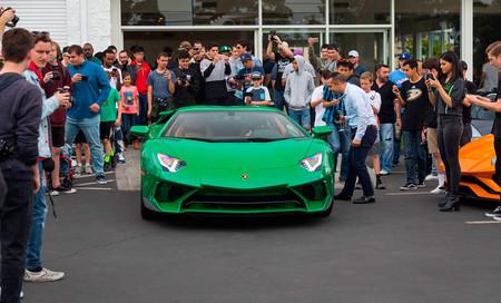 Lamborghini Aventador SV inspirado en el clásico Miura SV de preproducción