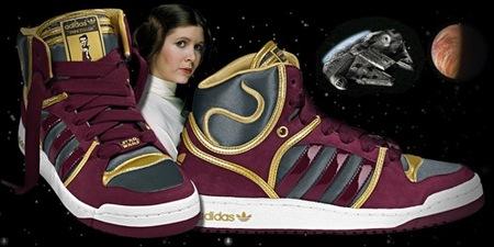 Adidas y Star Wars, la colaboración más espacial de 2010, Leia Organa
