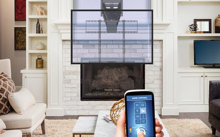 Este soporte para la tele sabe cuándo hace mucho calor y se mueve para evitarlo