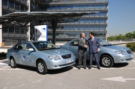 Los primeros BYD llegarán a España después del verano