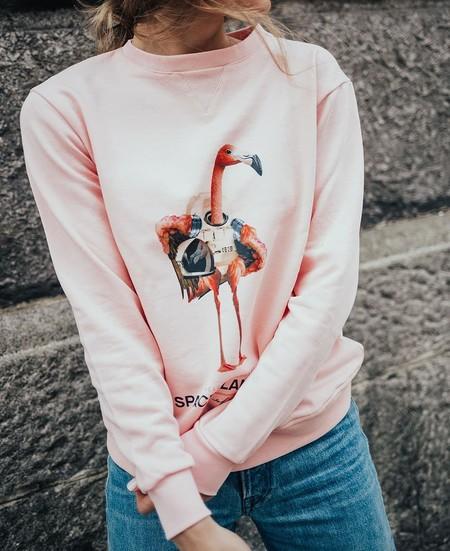 Así es Space Flamingo, la firma de Paula Echevarría con la que llenar nuestros looks de flamencos... y no nos pega mucho con ella