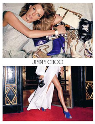 Angela Lindvall será la nueva imagen de Jimmy Choo
