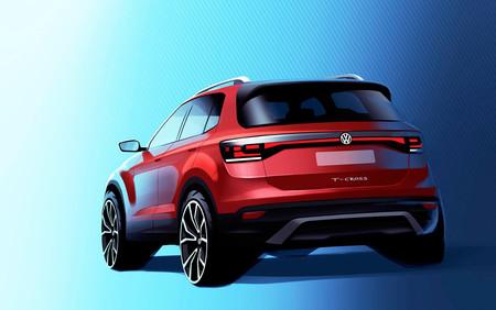 Esta es la primera imagen del Volkswagen T-Cross, el primo del SEAT Arona