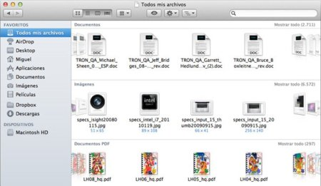 Mac OS X Lion Beta Finder