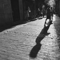 Retocando en blanco y negro una fotografía callejera