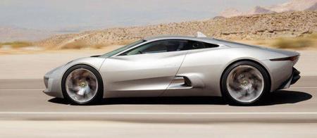 Jaguar C-X75, el nuevo superdeportivo híbrido