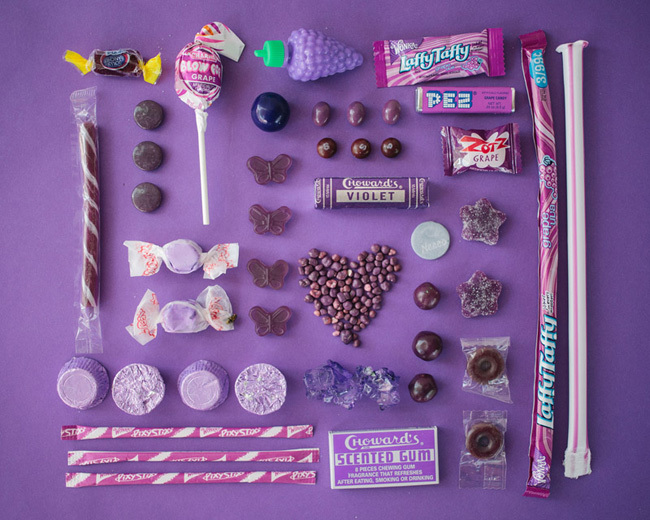 Foto de Sugar Series, golosinas organizadas por colores para saltarnos la dieta de forma ordenada (1/7)