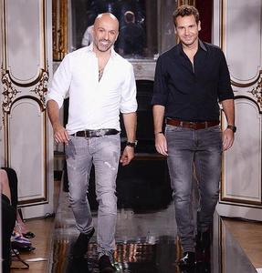 Álvaro y Arnaud dan una lección de maestría en el desfile Couture de Azzaro