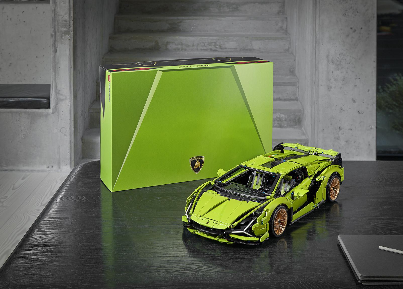 Foto de Lamborghini Sián FKP 37 de LEGO (12/15)