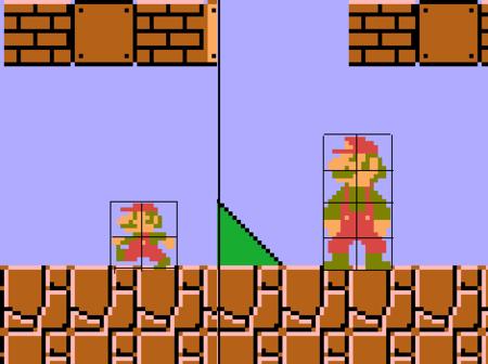 Sprite Cutting Mario