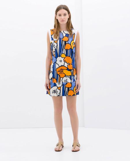Flores Vestido de Zara