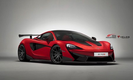 McLaren 570S by 1016 Industries, un kit aerodinámico que funciona de verdad