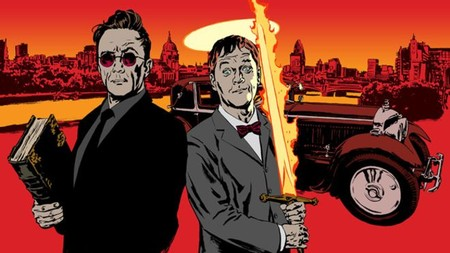 Michael Sheen y David Tennant serán ángel y demonio en 'Good Omens', otra adaptación televisiva de Neil Gaiman