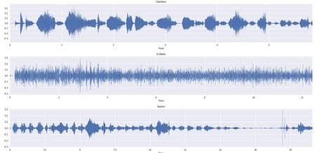 Senal Audio Llanto