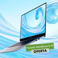 La ligereza del Huawei MateBook D15 está superrebajada en Amazon: por 599 euros te lo llevas con 200 euros de descuento