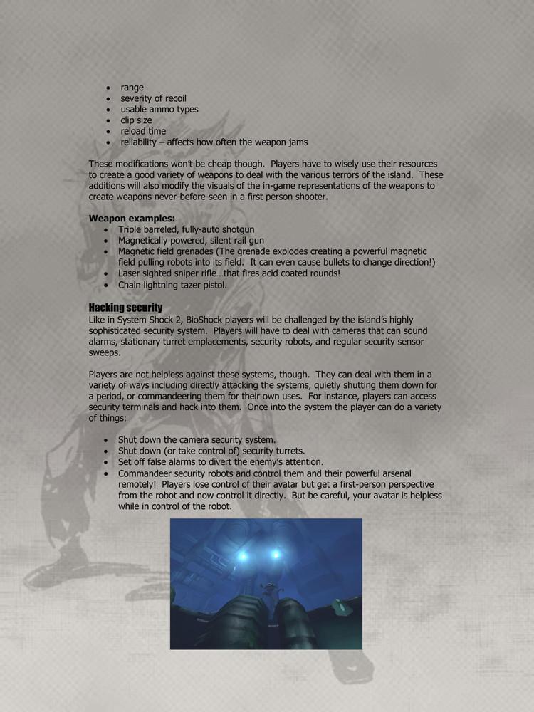 Foto de 'BioShock', documentos originales (7/9)