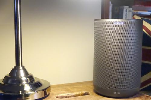 LG ThinQ WK7, análisis: este altavoz inteligente con Assistant prueba que las marcas «tradicionales» también tienen algo que decir