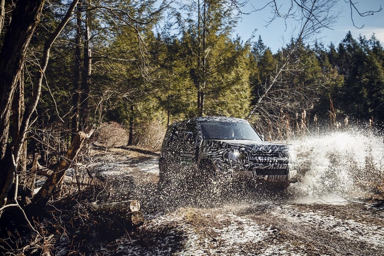 Foto de Land Rover Defender 2020 primeras fotos oficiales (16/24)