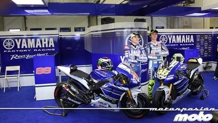 Asistimos a la presentación del Yamaha Factory Racing en Jerez