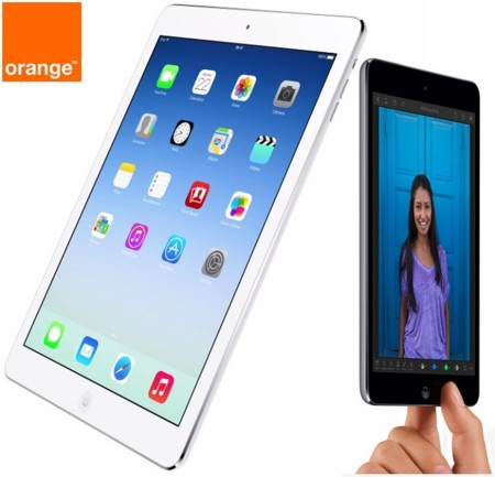 Precios iPad Air 4G y iPad mini con Orange y comparativa con Vodafone