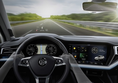 Vw Touareg Head Up Display 2