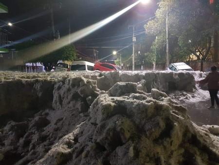 Guadalajara bajo nieve: así se ve y ocurrió la peor tormenta de granizo de la que se tenga registro en Jalisco, México