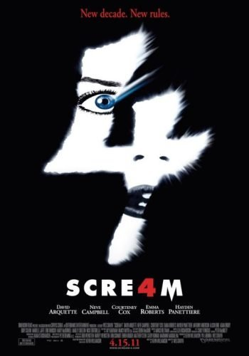 'Scream 4', carteles