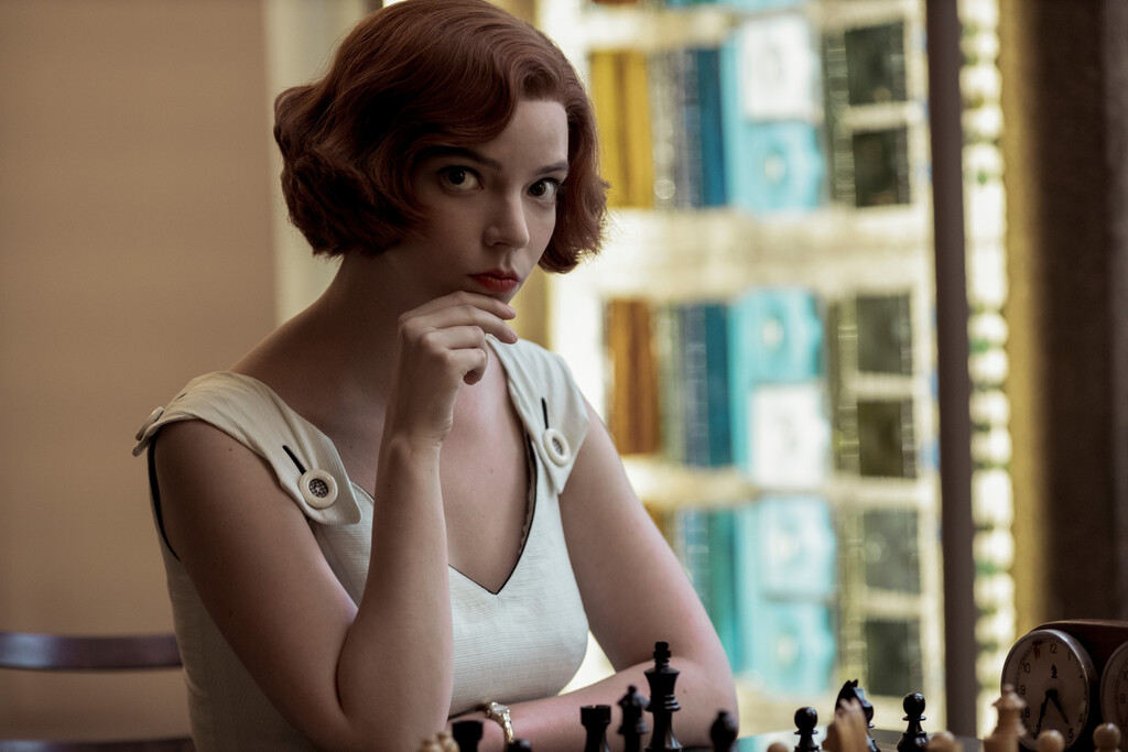 Globos de Oro 2021: Anya Taylor-Joy es la mejor actriz de una serie limitada o telefilme por 'Gambito de dama'