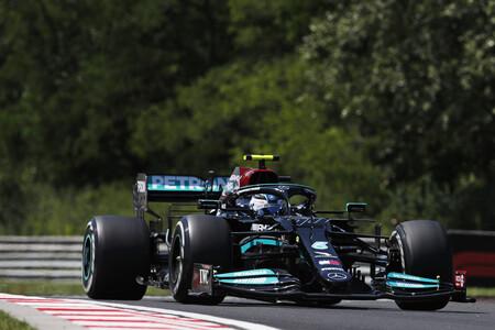 Valtteri Bottas lidera el doblete de Mercedes frente a Max Verstappen en el Gran Premio de Hungría