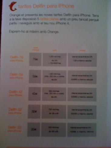 iPhone 4 Orange