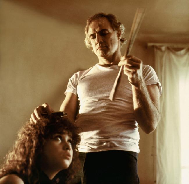 Maria Schneider y Marlon Brando en una escena del film