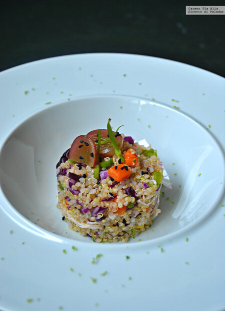 Ensalada De Quinoa Pollo Y Verduras