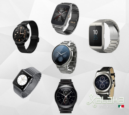 La comparativa definitiva de smartwatches 2015