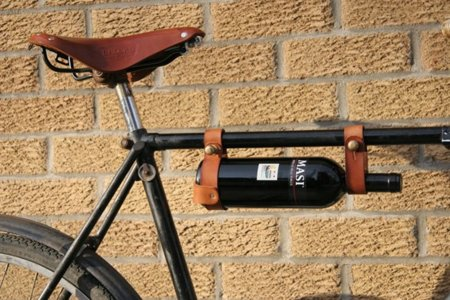 Porta vino para tu bici