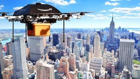 Lo de un drone llevándote un paquete a casa no va a pasar pronto