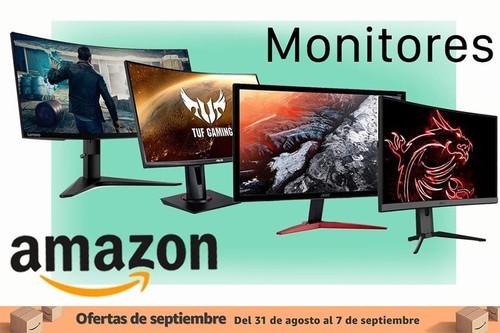 Las mejores monitores Acer, HP y LG de las ofertas de septiembre en Amazon