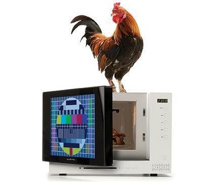 Wave TV, microondas con televisión y DVD