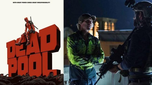 Deadpool y Michael Bay en el rodaje de 13 Horas