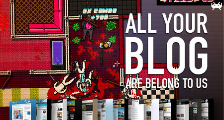 Hotline Miami, el arte de Azpiri y a vueltas con la OUYA. All Your Blog Are Belong To Us (CCLII)