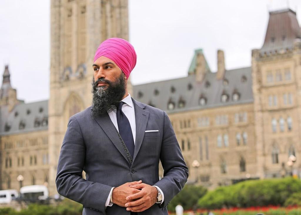 Asi Es El Estilo De Jagmeet Singh El Hombre Que Contiende Contra Trudeau Como Primer Ministro De Canada