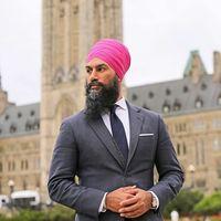 Así es el estilo de Jagmeet Singh, el hombre que contiende contra Trudeau a primer ministro de Canadá