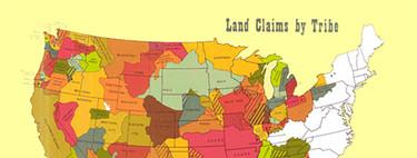 El gif que explica cómo EEUU arrebató sus tierras a los indios nativos en menos de cien años
