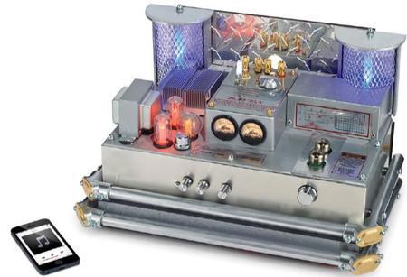 Este amplificador a válvulas sería el preferido del doctor Frankenstein