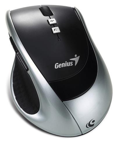 Genius DX-ECO: un mouse inalámbrico que se carga solo
