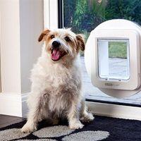 Solo tu mascota podrá entrar en casa gracias a esta gatera inteligente