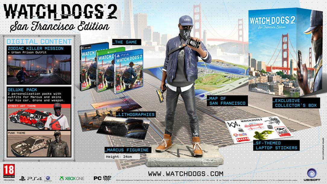 Foto de Ediciones de Watch Dogs 2 (4/5)