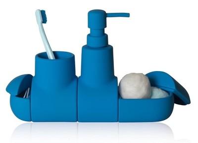 Un submarino es el accesorio perfecto para organizar tu lavabo