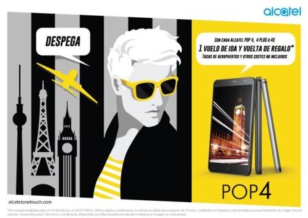 Alcatel Pop 4 promoción